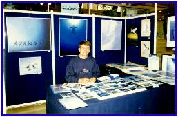 Pascal Lecocq during the festival, Antibes 1997