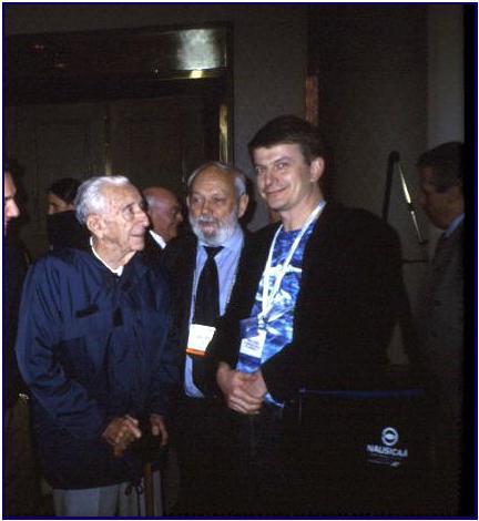 Cdt Philippe Taillez, Daniel Mercier, Pascal Lecocq, New Orleans 1999