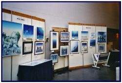 Pascal's exhibition at the Dive show