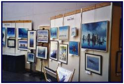 Exhibition hall with Pascal'spaintings
