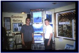 Exhibition in North Shore Diving Headquarters in Haleiwa, Oahu
