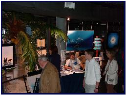 Exhibition and signature, photo by C.Petron