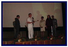 Award ceremony, pic by C.Petron