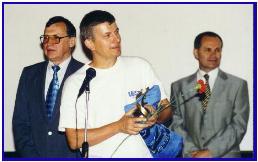 Award for PASCAL, pic by K.Roudeshko