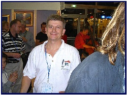 opening of Pascal's exhibition 2003, pic by JC.Protta