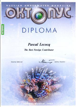 Oktopus Award 2003