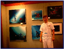 Pascal's exhibition at the Art Innovation Center of Dema 2003