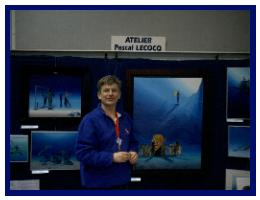 Pascal Lecocq at the diveshow