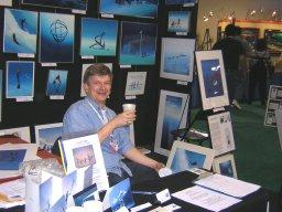Fun time during exhibition, pic by P.Chevaillier