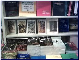 Bookstore in Bayreuth with Pascal's cover