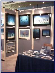 Pascal'exhibition in Antibes 2004