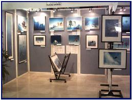 Exhibition Pascal Lecocq in Antibes 2004