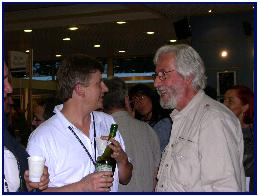 Jean-Michel Cousteau always supporting the show, by S.Reiter