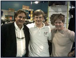 Pascal with renowned photographers Todd Essick and Stephen Frinck