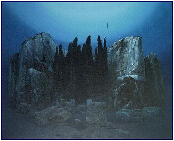 Pascal Lecocq's u/w version of The Isle of the dead