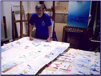 I'm drawing with Pascal, Contest Pascal Lecocq 2007