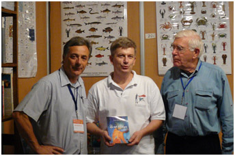 with author Pierre Brocchi and bookseller B.Fenet, pic by G.lecocq