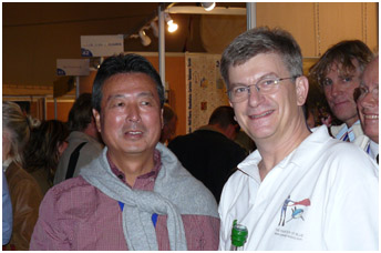 Japan Underwater Festival president T.Emoto, pic by G.Lecocq