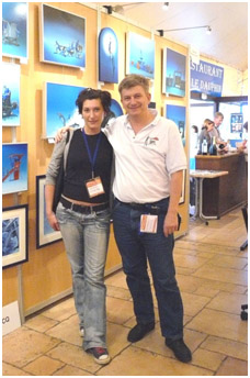with Russian Movie Festival President E.Gushina, pic by G.lecocq