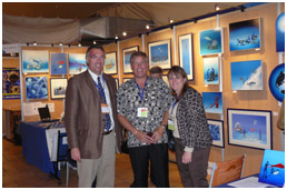 Show President Ph.Valette with Mrs and M.Bill Todd, pic by G.lecocq