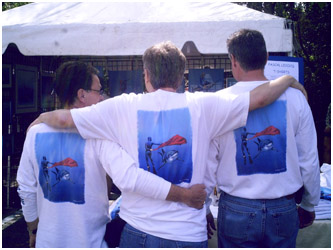 Pascal's new T shirts exhibition 2008, Gumbo Limbo Boca Raton