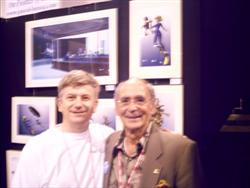 Dema 2008 Renowned photographer Ernst Brooks at pascal Lecocq exhibition
