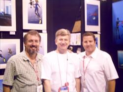 Dema 2008 Photographers James Forte and Brad Doane at pascal Lecocq exhibition