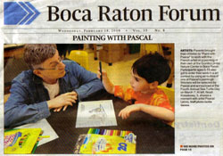 Front cover of Boca Raton Forum, Feb 18th, 2009