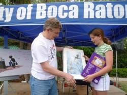 Winner Fiona S., 10.