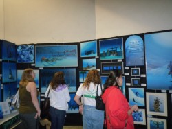 Pascal's exhibition at Scuba Show 2010