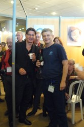 with H.Hordosh, of Seacam, Pascal's show, Marseille 2010