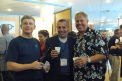 with A.Fuchs and Bill Todd, of Nasa, Pascal's show, Marseille 2010