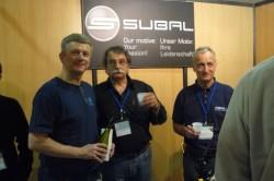 the Subal team, Pascal's show, Marseille 2010