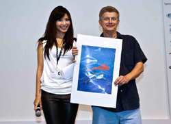 with Jessica Tan, pic © OceanGeographic