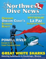 Northwest Dive News with Pascal's Matador cover