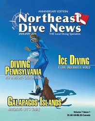 Northeast Dive News with Pascal's zodiac sign Libra cover