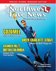 Northwest Dive News with Pascal's Miss Liberty cover