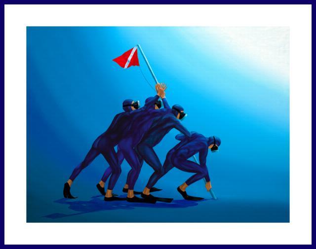 Pascal' Common Virtue for Iwo Jima