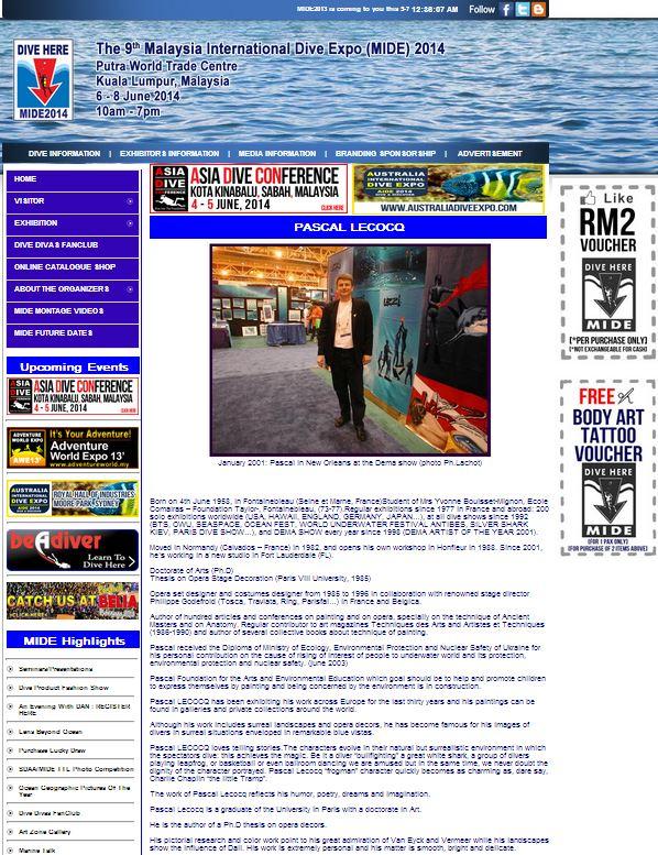 Malaysian International Dive